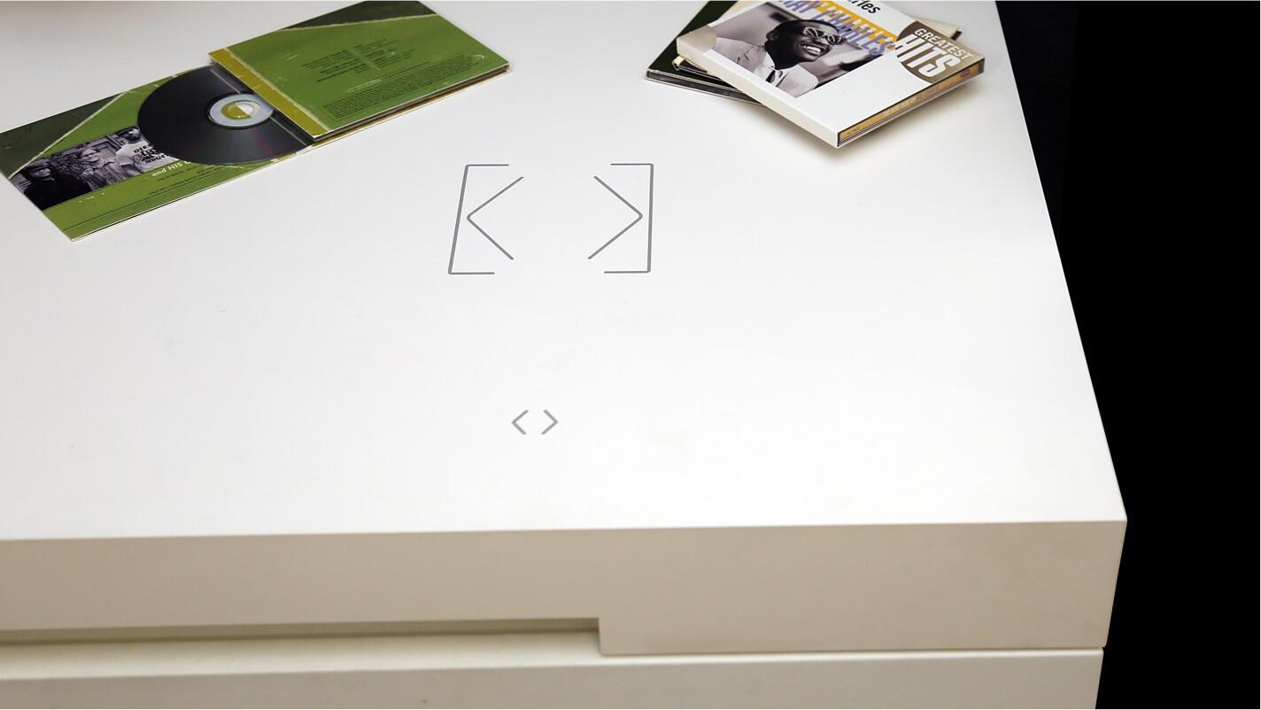 Touch Surface ako súčasť pracovnej dosky