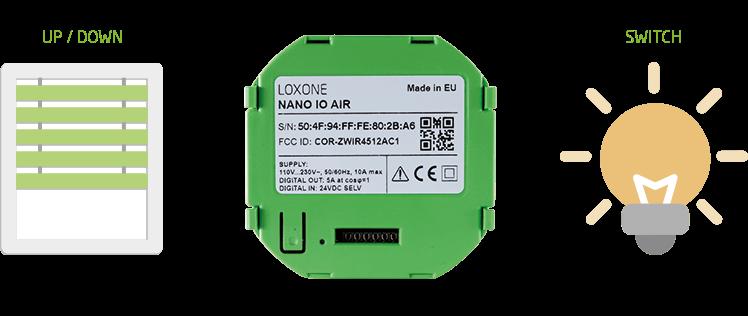 Integrácia Nano IO Air