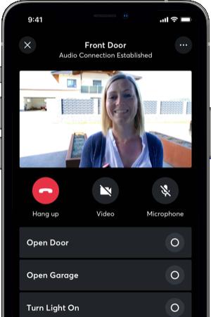 Komunikácia s návštevou v aplikácii