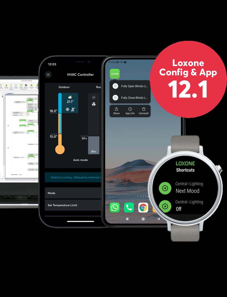 Nová verzia Loxone Config a App