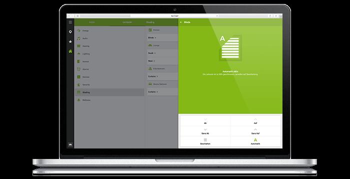 Loxone App6 web interface