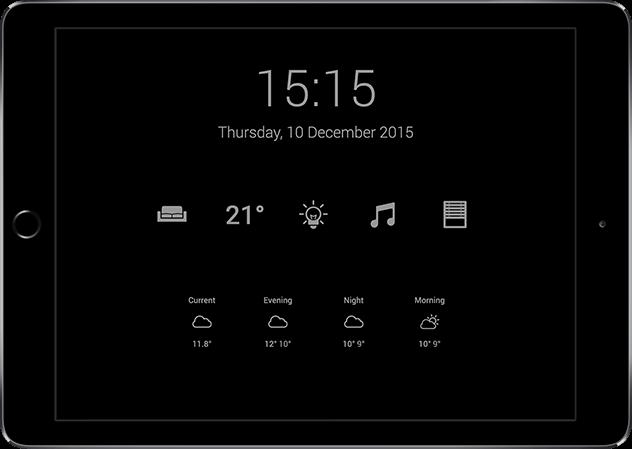 Loxone HD app Eco Mode 640px