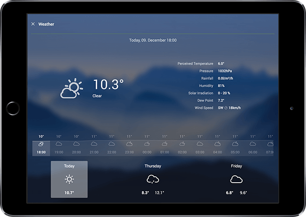 Loxone HD app-weather-640px