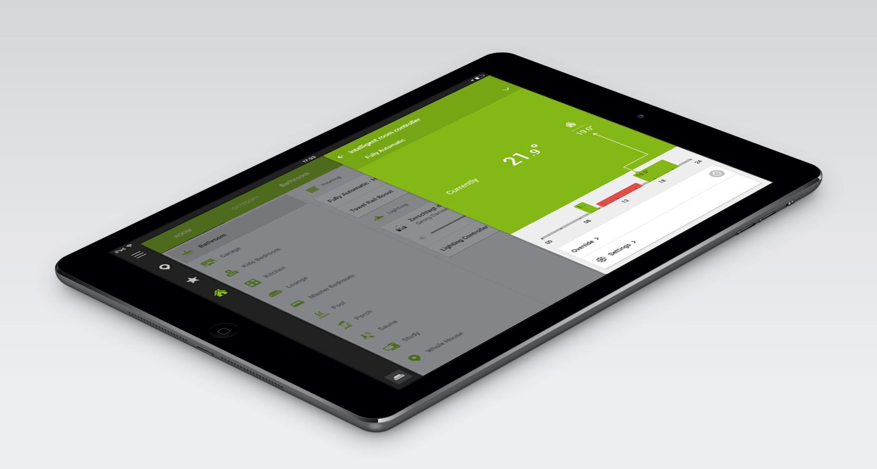 Loxone smart home 6-0-HD app